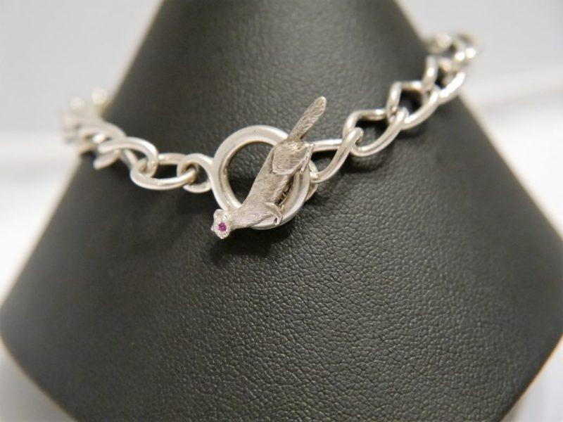 chunky-silver-ferret-bracelet