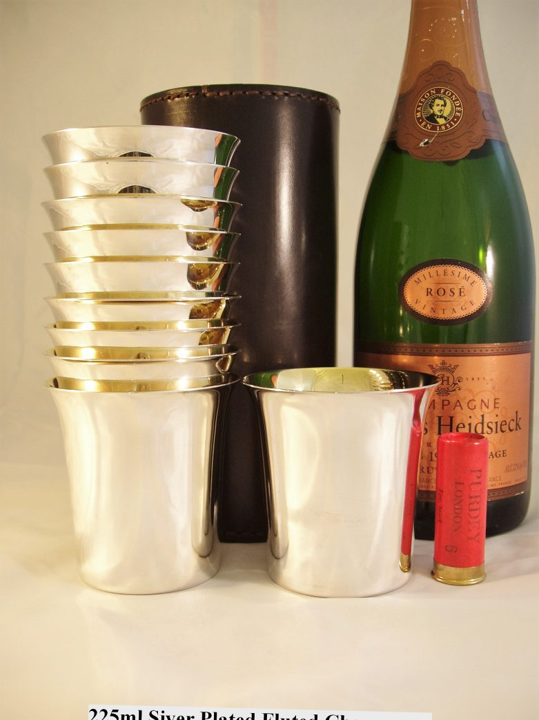 Fluted Champagne Cups