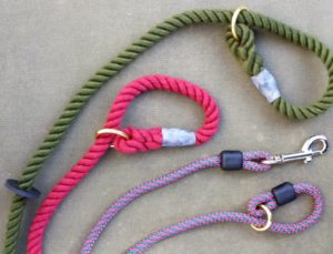 Braided and Rope Dog Leads