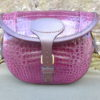 100 Size Croc Bag in Purple