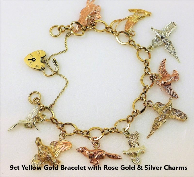 Rose-Gold-Silver-and-Yellow-Gold-Bracelet