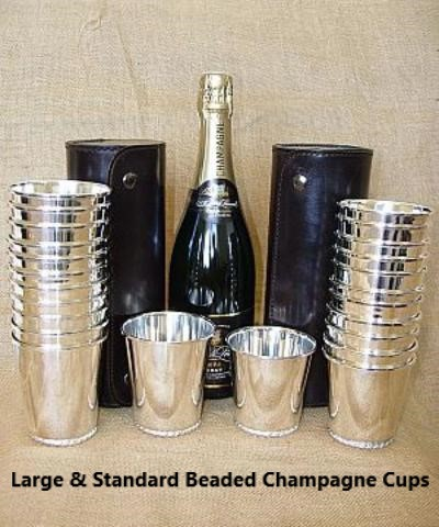Standard & Large Beaded Champagne Cup