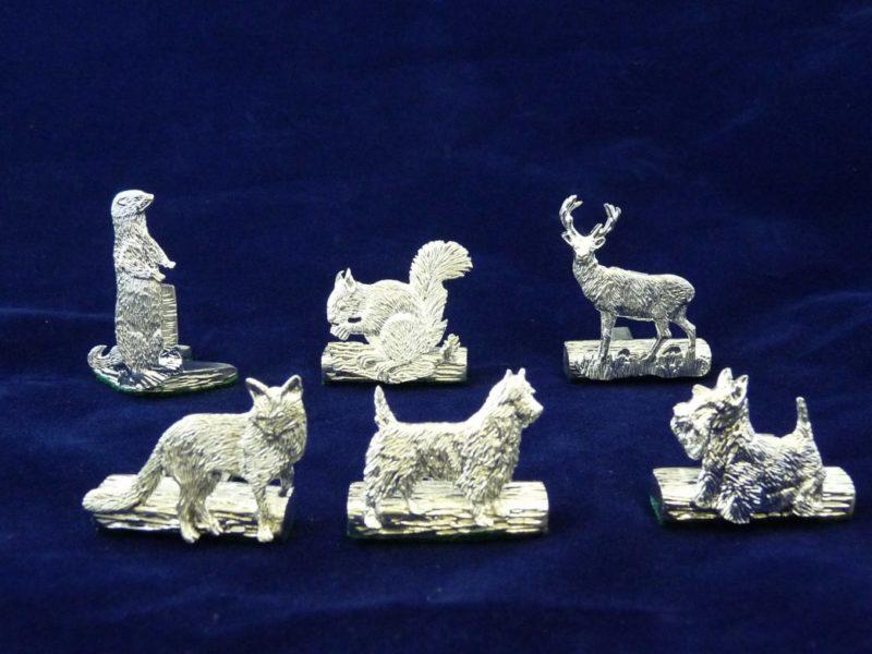 animals table setting