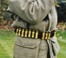 Clip cartridge belt belt