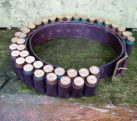 Double cartridge belt