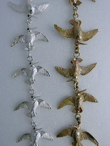 Gold-Silver-W-C-bracelets