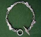 4 Hare Silver Bracelet