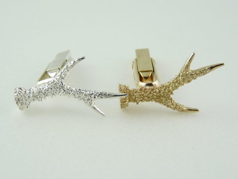 Roebuck-medal-head-cufflinks