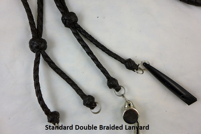 Standard Double Braided Lanyards text