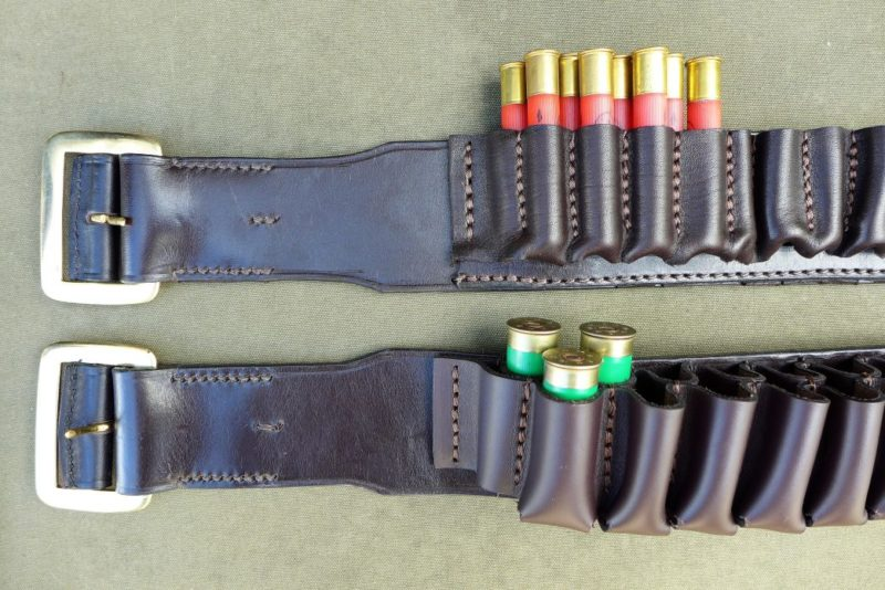 Double Socket Cartridge Belt
