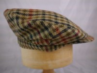 Cap 4 - Lovat mill Soft Tweed Landmoth Sizes available 7 and a half