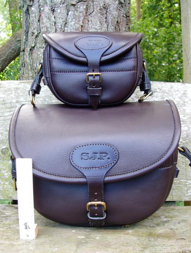 50 and 150 size Dark Havana Cartridge Bag
