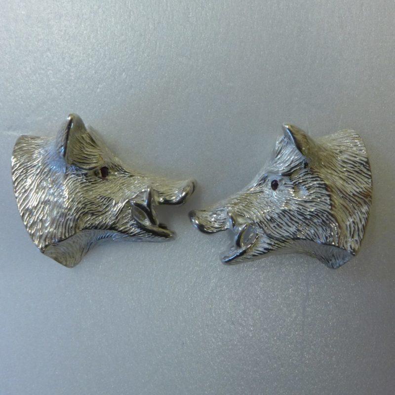 Wild Boar Cufflinks