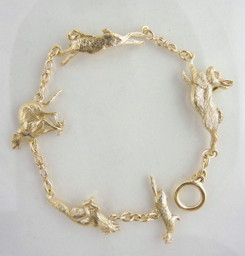 yellow gold animals