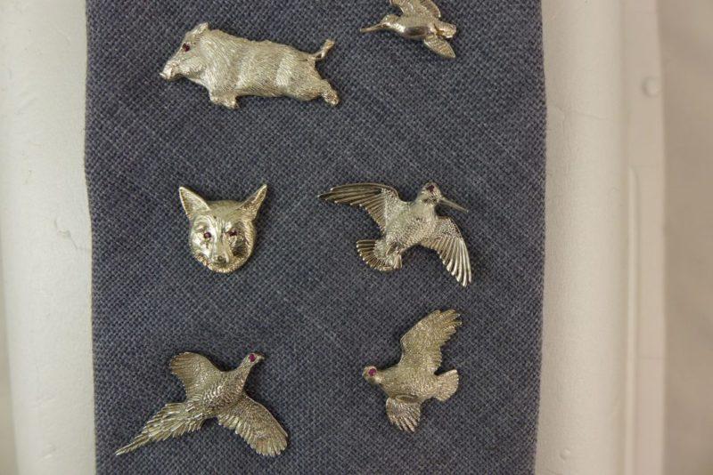 Silver Tie Pins (2)