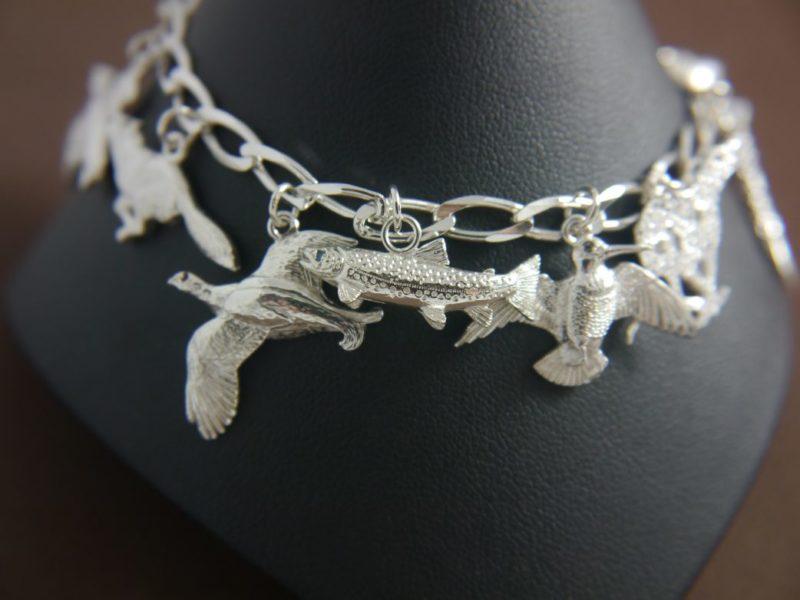 9-charm-silver-bracelet