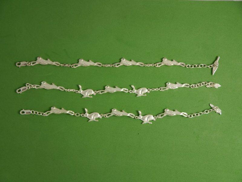 running-hare-bracelets