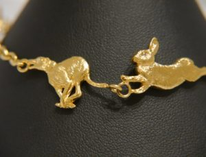 silver-gilt-hare-and-longdog-bracelet