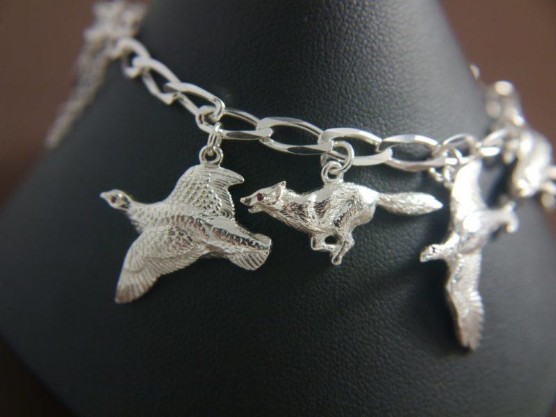 silver-9-charm-bracelet