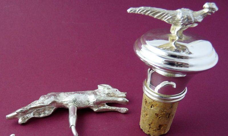 Grouse Bottle Stopper & Fox Corkscrew