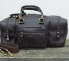 Dark Havana Leather Range Bag