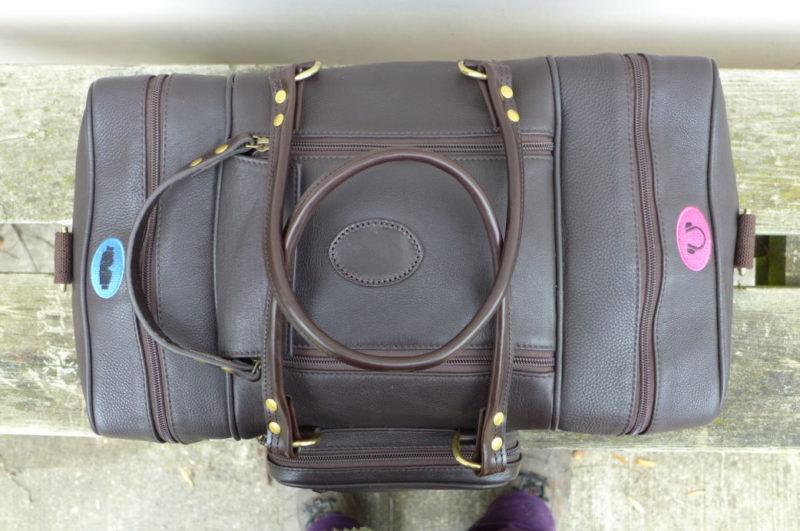 Dark Havana Leather Range Bag