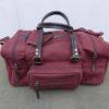 Range Bag in Maroon