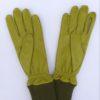 Pistachio Leather Gloves